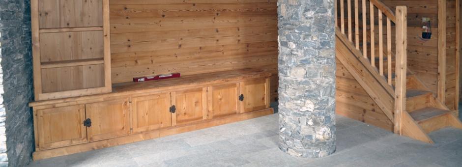 Posa boiserie parquet e pavimenti in legno for Posa perline legno parete